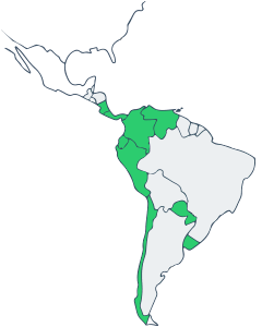 9 Countries in South America